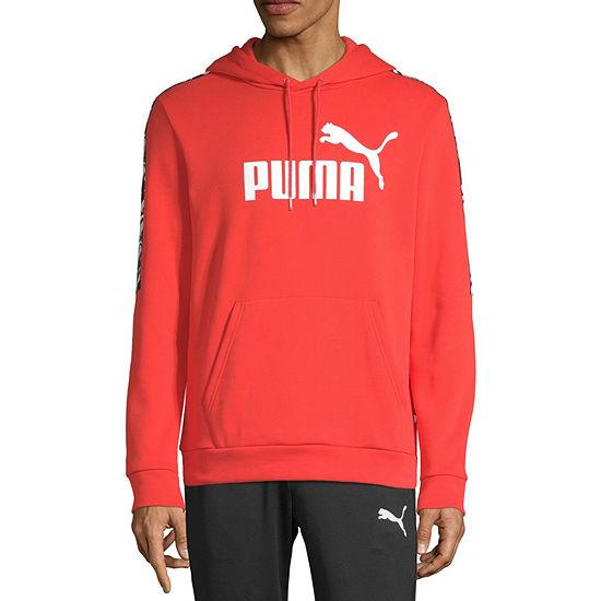 Puma Amplified Mens Long Sleeve Hoodie