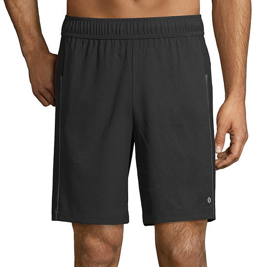 Xersion Mens Mid Rise Stretch Workout Shorts