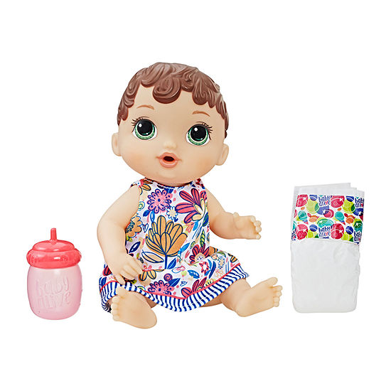 Baby Alive Lil' Sips Baby (Brown Sculpted Hair)