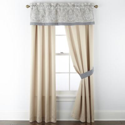 Luella Light-Filtering Rod-Pocket Set of 2 Curtain Panel