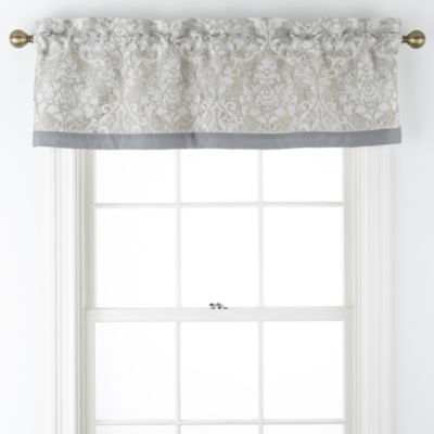 Luella Rod-Pocket Tailored Valance