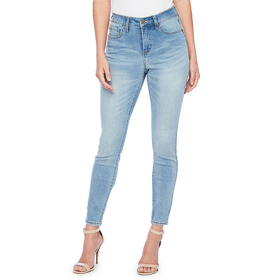 Bold Elements Fit Solution Womens Mid Rise Skinny Fit Jean