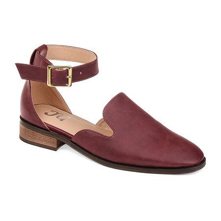 Journee Collection Womens Loreta Loafers, 10 Medium, Red