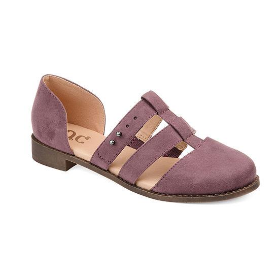 Journee Collection Womens Jc Clarise Slip-On Shoe Round Toe