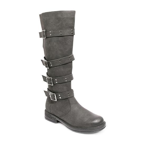 2 Lips Too Womens Jack Riding Boots Flat Heel