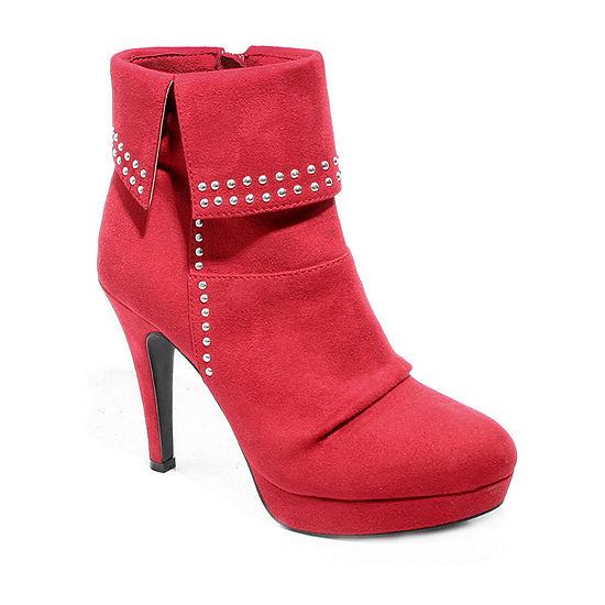 2 Lips Too Womens Shaker Dress Boots Stiletto Heel