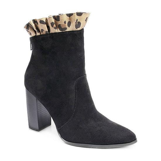 2 Lips Too Womens Abby Dress Boots Block Heel