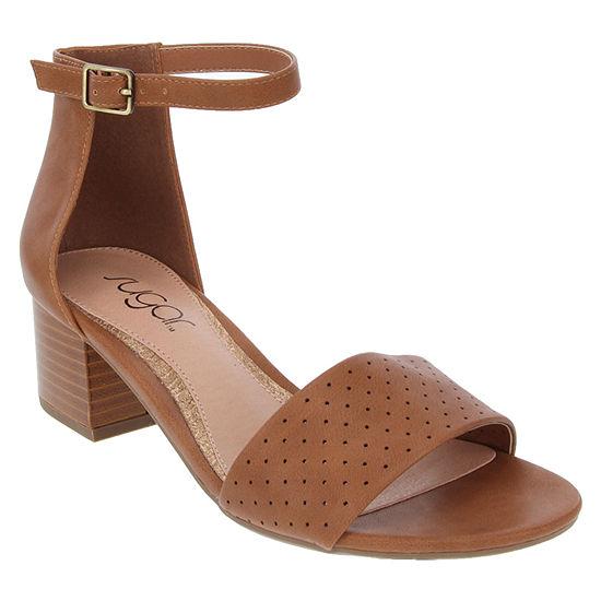 Sugar Womens Noelle Heeled Sandals