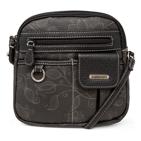 St. John's Bay North South Mini Stefano Crossbody Bag