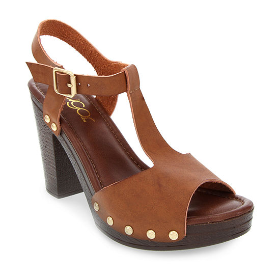 Sugar Womens Quince Heeled Sandals
