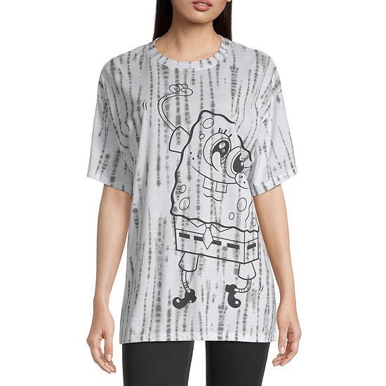 Juniors  Spongebob Graphic T-Shirt