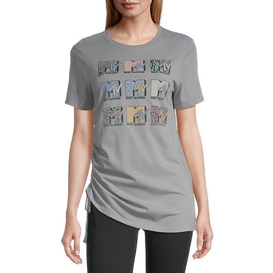 Juniors Mtv Short Sleeve Graphic T-Shirt