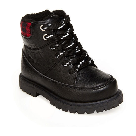 Carter's Toddler Boys Maestro Motorcycle Flat Heel Boots