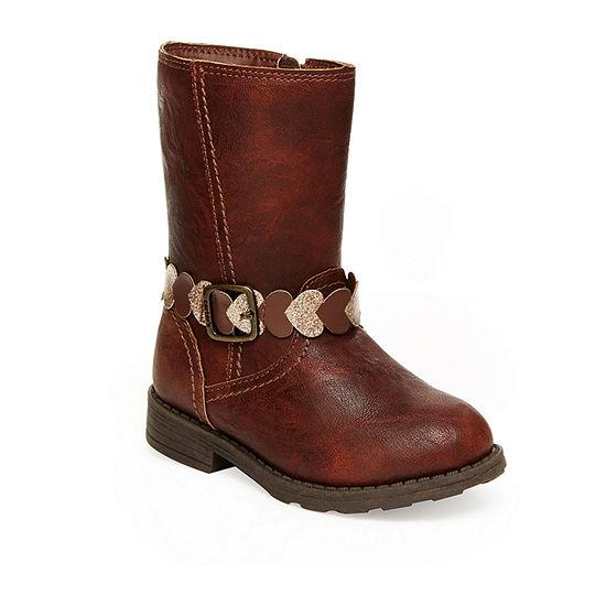 Carter's Toddler Girls Aura Riding Flat Heel Boots