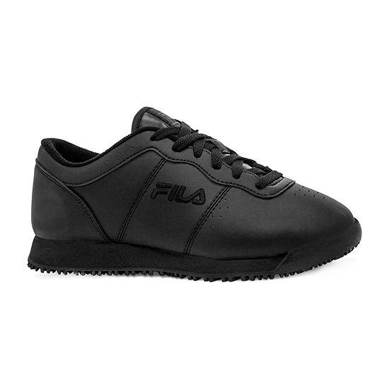 Fila Memory Viable Slip-Resistant Work Womens Walking Shoes