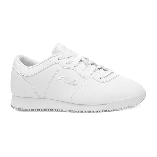 Fila Memory Viable Slip-Resistant Work Womens Sneakers
