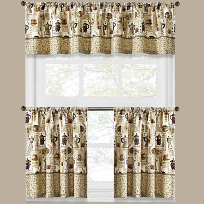 Superb Jcpenney.com | Coffee Shoppe Kitchen Curtains
