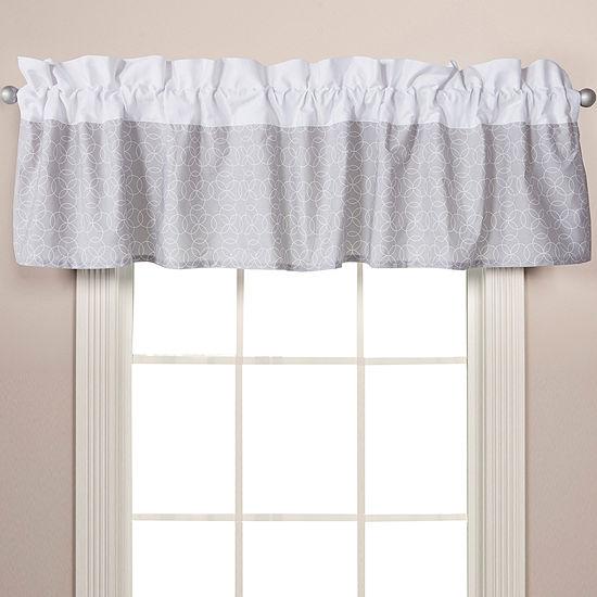Trend Lab® Gray Circles Window Valance