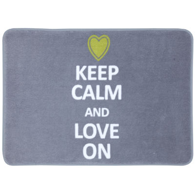 Mohawk Home® Keep Calm and Love On Bath Rug