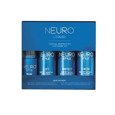 Paul Mitchell Neuro Liquid Take Home Kit 4-pc. Value Set - 5.3 oz.