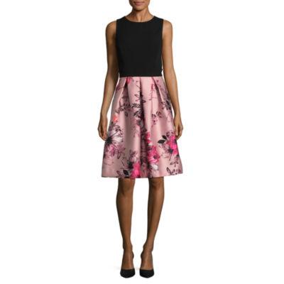Scarlett Sleeveless A-Line Dress-Talls