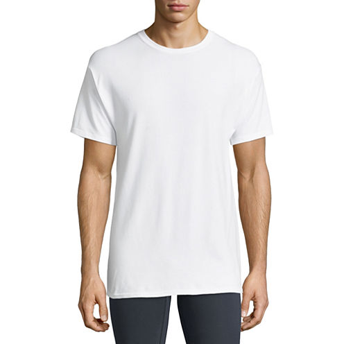 Hanes Stretch 3-pc. Short Sleeve T-Shirt
