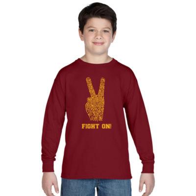 Los Angeles Pop Art Usc Graphic T-Shirt Boys