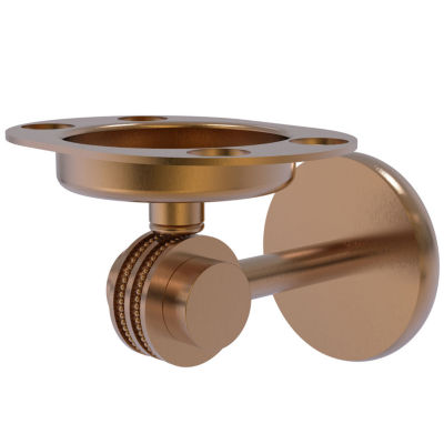 Allied Brass Satellite Orbit Two Collection Toothbrush Holder
