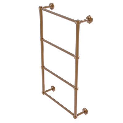 Dottingham Collection 4 Tier Ladder Towel Bar withGroovy Detail