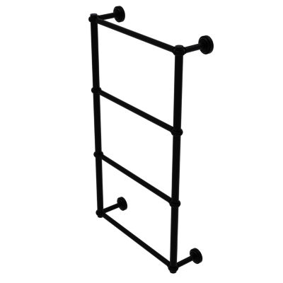 Allied Brass Prestige Skyline Collection 24 Inch Towel Bar With Integrated Hooks
