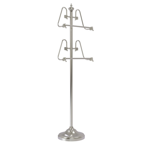 Allied Brass Foor Standing 49 Inch Towel Stand