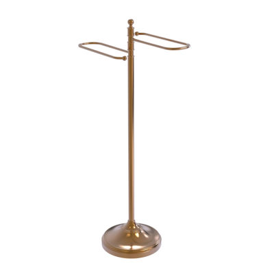 Allied Brass Traditional Free Standing Floor BathTowel Valet