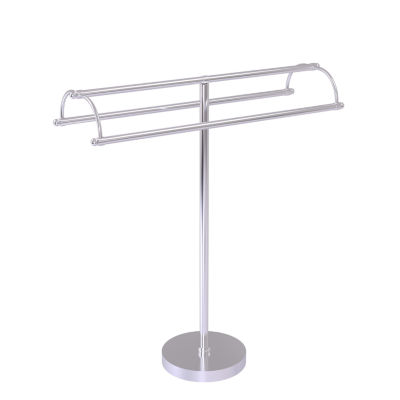 Allied Brass Free Standing Double Arm Towel Holder