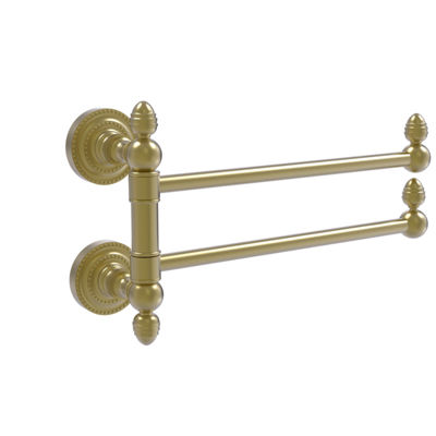 Allied Brass Dottingham Collection 2 Swing Arm Towel Rail