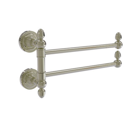 Allied Brass Prestige Monte Carlo Collection 36 Inch Towel Bar With Integrated Hooks