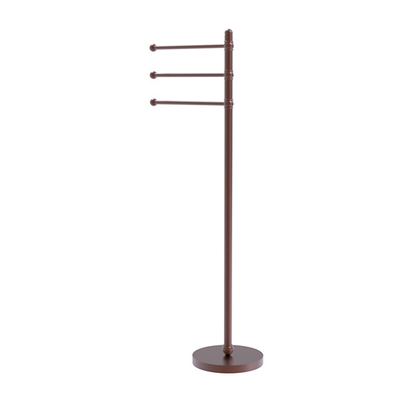 Allied Brass 49 Inch Towel Stand with 3 Pivoting Arms