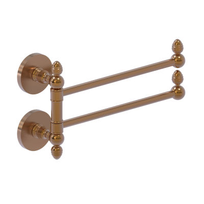 Allied Brass Prestige Skyline Collection Towel Rail with 2 Swing Arms