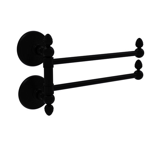 Allied Brass Monte Carlo Collection Towel Rail with 2 Swing Arms