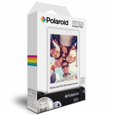 Polaroid PIF-300 Instant Film for PIC-300 Series Cameras - 10 Prints