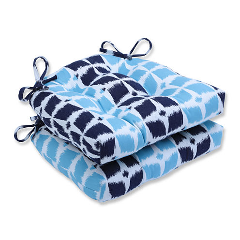 Pillow Perfect Pillow Perfect - Indoor Chair Pads Dining Cushion ...