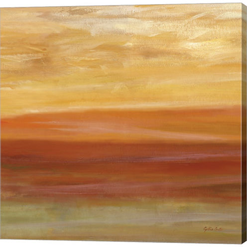 Metaverse Art Horizons Spice Ii Gallery Wrapped Canvas Wall Arton Deep Stretch Bars