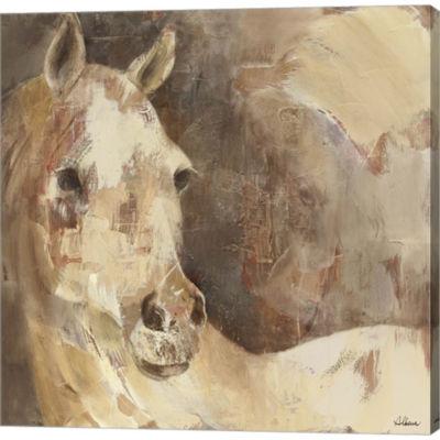 Metaverse Art Jasmine Gallery Wrapped Canvas WallArt