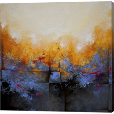 Metaverse Art My Sanctuary Gallery Wrapped CanvasWall Art