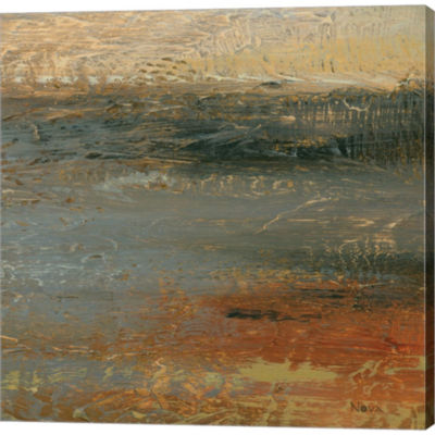 Siena Abstract IV Gallery Wrapped Canvas Wall ArtOn Deep Stretch Bars
