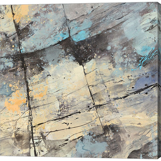 Metaverse Art The Rocks Crop Gallery Wrapped Canvas Wall Art