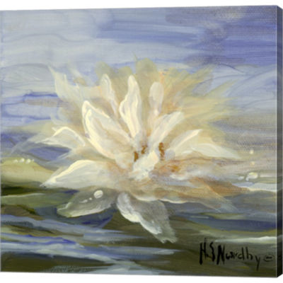 Metaverse Art Water Lillies 2 Gallery Wrapped Canvas Wall Art