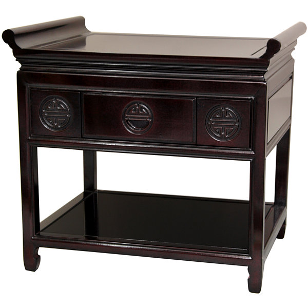Rosewood Altar Console Table