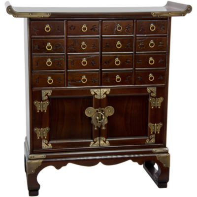 Oriental Furniture Korean Antique Accent Chest