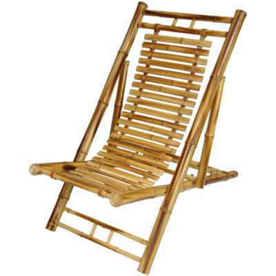 Japanese Bamboo Armchair