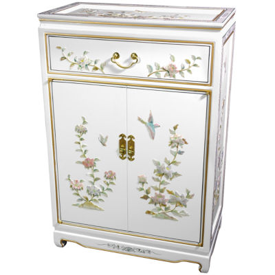 Hand-Crafted Accent Cabinet